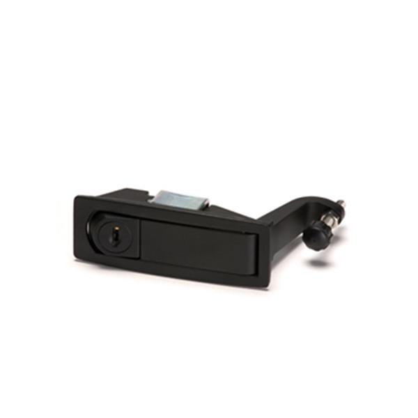 תמונה של סגר ארון חשמל קפיצי עם מפתח