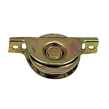 תמונה של גלגל שער עם בית שטוח