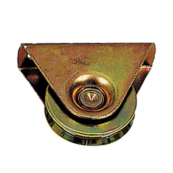 תמונה של גלגל שער עם בית משולש
