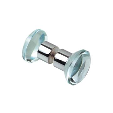 תמונה של כפתור מקלחת כפול פטרייה זכוכית