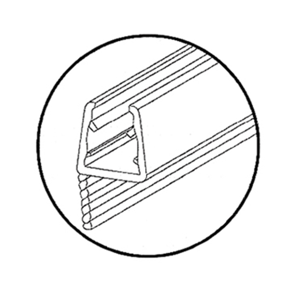 Picture of אטם 309B-3 פרופיל כסא