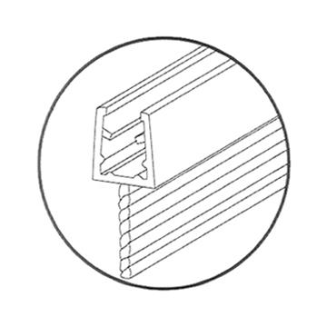 Picture of אטם 309B-1 פרופיל כסא אמצע