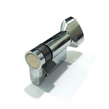 תמונה של חצי צילינדר לבן כפתור